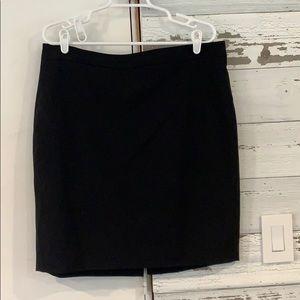 NWOT black pencil skirt
